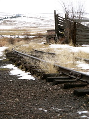 Great Northern. Montana. Abandoned (montanatom1950) Tags: railroad signs montana sheep railway helena gn helenamontana greatnorthernrailway abandonedrailroads