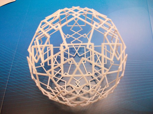 Following the edges of the icosidodecahedron : from the data file to the non-virtual object. The chain is complete.