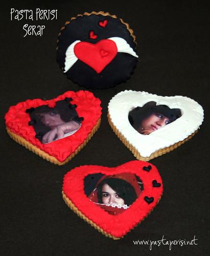 resimli kurabiye tasarım