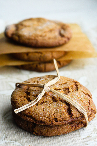 Molasses Kringle Cookies  (1 of 1)
