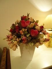 2010-12-10 021 (ARTES BALAIO DE GATOS) Tags: flores de com vasos flôres permanentes segundafeiradalua