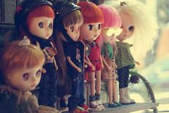 Lá na Lu Gastal :) (Bruna Lacrout ☆) Tags: zoe doll charlotte portoalegre meeting skate mohair blythe custom encontro eleonora valentina lugastal dollsdosul sonya230