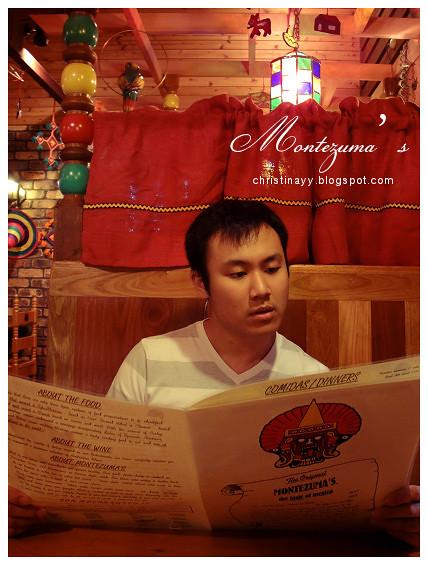 Montezuma's Mexican Restaurant: Menu