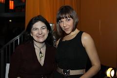 Jillian Maslow of Target Peace and friend Shelleen Kostabi (ARTIVIST.com) Tags: film f fest piero artivist giunti nyc2010