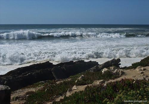 Natureza, areia e oceano