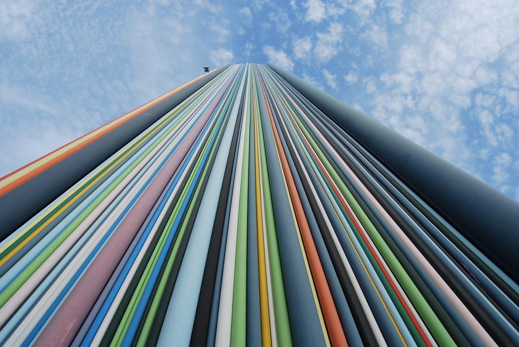 La Défense tour Moretti place de l'Iris
