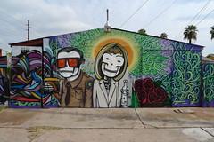 graffiti055 (dualisanoob) Tags: phoenix graffiti mural joearpaio lalocota janbrewer sb1070