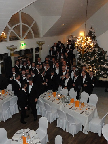 Group picture during the 22nd annual VCL dinner in Maastricht