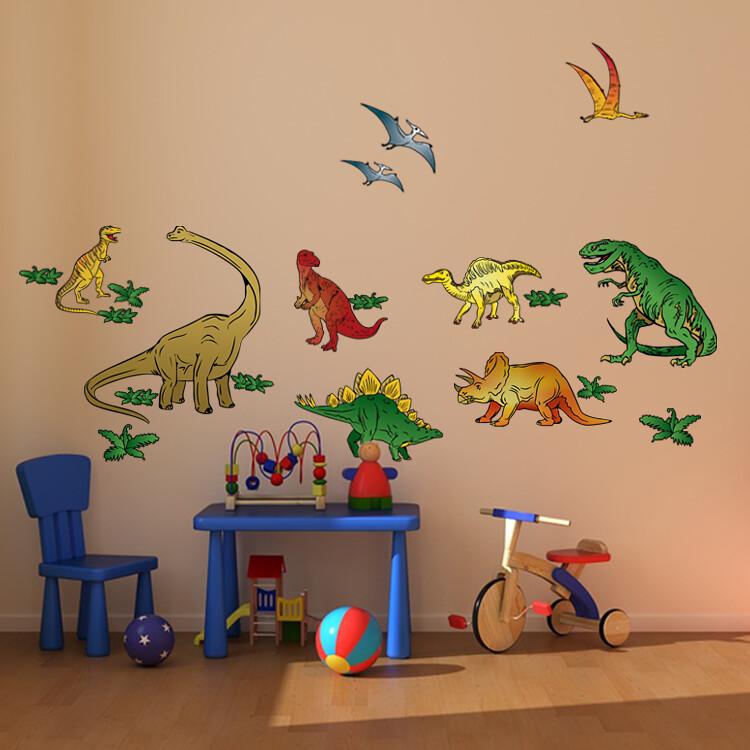dinosaur wall-pic