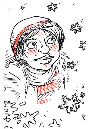Christmas Sketchbook 07