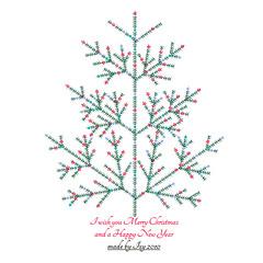 html xmas tree