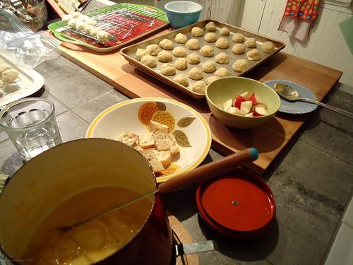 fondue for dinner
