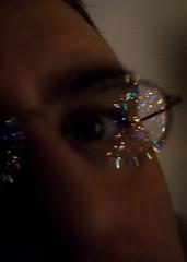 149:365 [still with visions of xmas] (Frank, Jr.) Tags: xmas winter holiday selfportrait me season december availablelight ofme xmaslights xmastree 365days 149365 canonef35mm12