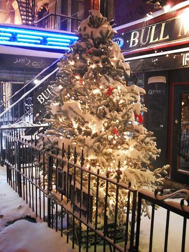 Blizzard 2010, East Village, New York City 7