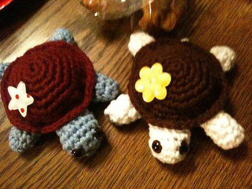 Crochet Turtle Christmas Presents