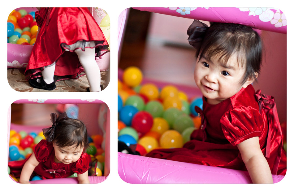 Reagan Ball Pit Collage