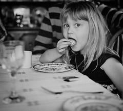 Olivia (chrism229) Tags: portrait people blackandwhite film monochrome analog mediumformat iii voigtlander bessa diafine analogue