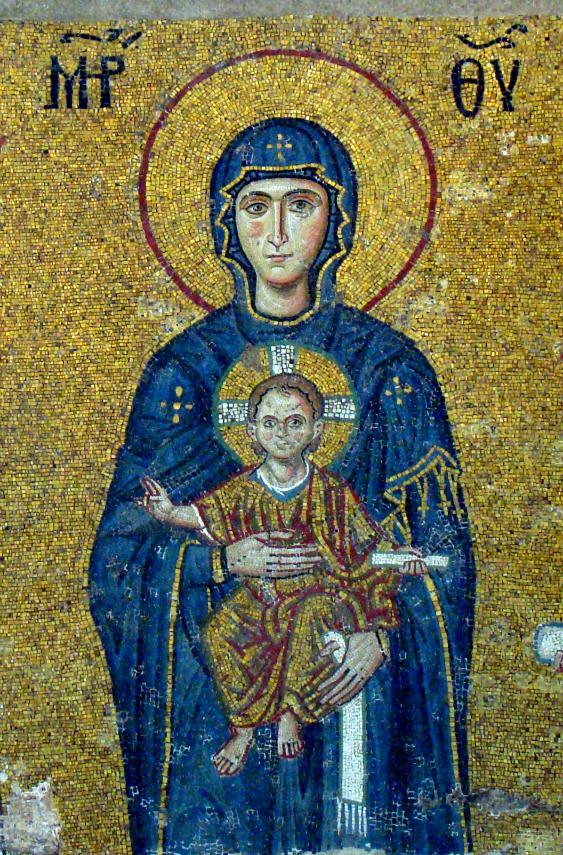 Comnenus Mosaics: Virgin and Child