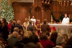 Christmas midnight Mass (rikki480) Tags: christmas church catholic cathedral indiana midnight mass bishop fortwayne cathedraloftheimmaculateconception bishopkevinrhoades