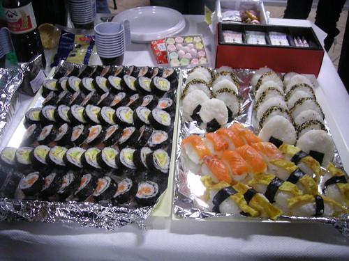Maki, Sushi e Onigiri preparati da Giorgia