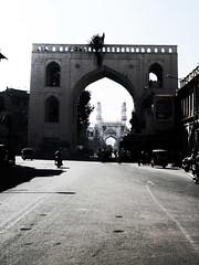 Hyderabad (Rahul Ravi) Tags: india building architecture wonder ap hyderabad minar oldcity charminar nizam