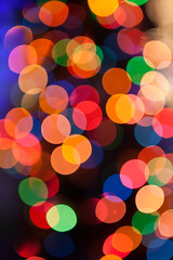 Greetings (ScottJphoto) Tags: holiday blur colors lights bokeh circles