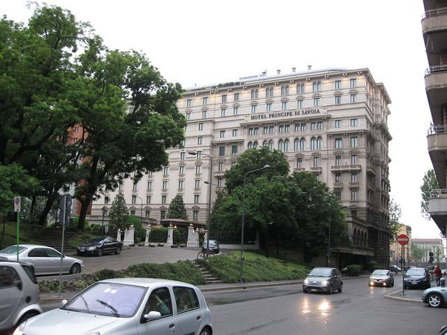 ミラノのホテルのフリー写真素材