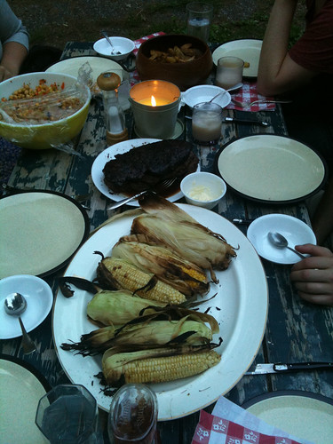 4th of July Dinner with friends @ Strawberry Hill House, Upstate NY