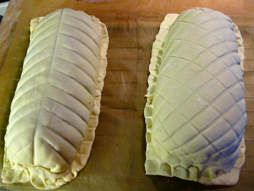 Before baking Singlish Swenglish Beef Wellington