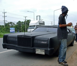 1973 Lincoln Continental Mark IV (murdered out)