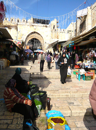 From flickr.com: market near damascus gate {MID-206273}