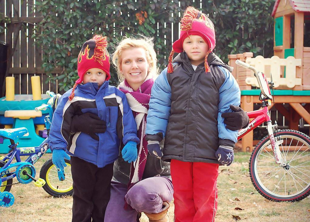 me and the boys, Christmas 2010
