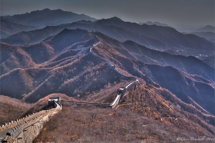 great wall of China mutianyu