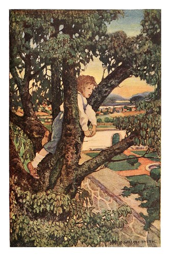 021-A child's garden of verses 1905- Robert Louis Stevenson- ilustrado por Jessie Willcox Smith