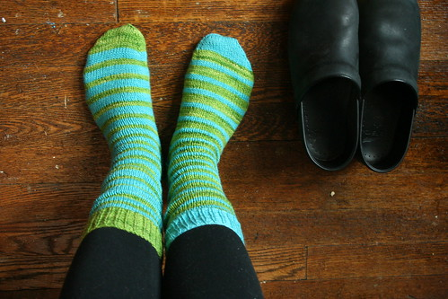 striped socks 1