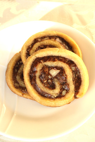 Taste of Home's Fudgy Pinwheel Cookies