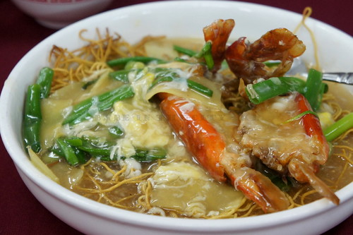 Fresh waterprawns noodles (RM19.80)-1