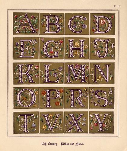 011- Medieval Alphabets and Initials 1886- F.G. Delamotte- Copyright 2006 illuminated-book.com& libros-iluminados.com