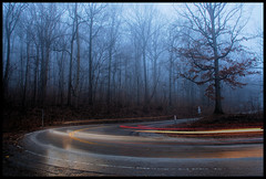 Hairpin Turn. (BamaWester) Tags: road mist fog turn huntsville alabama hairpin montesano bamawester napg