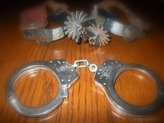 Heavy Metal (runjojorun) Tags: metal handcuffs restraints flickrchallengegroup