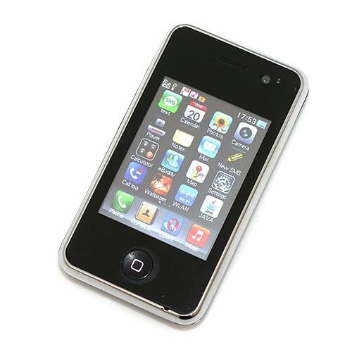 ZOHO V719 Dual Sim Card Dual Standby Cell Phone WIFI Java TV Black