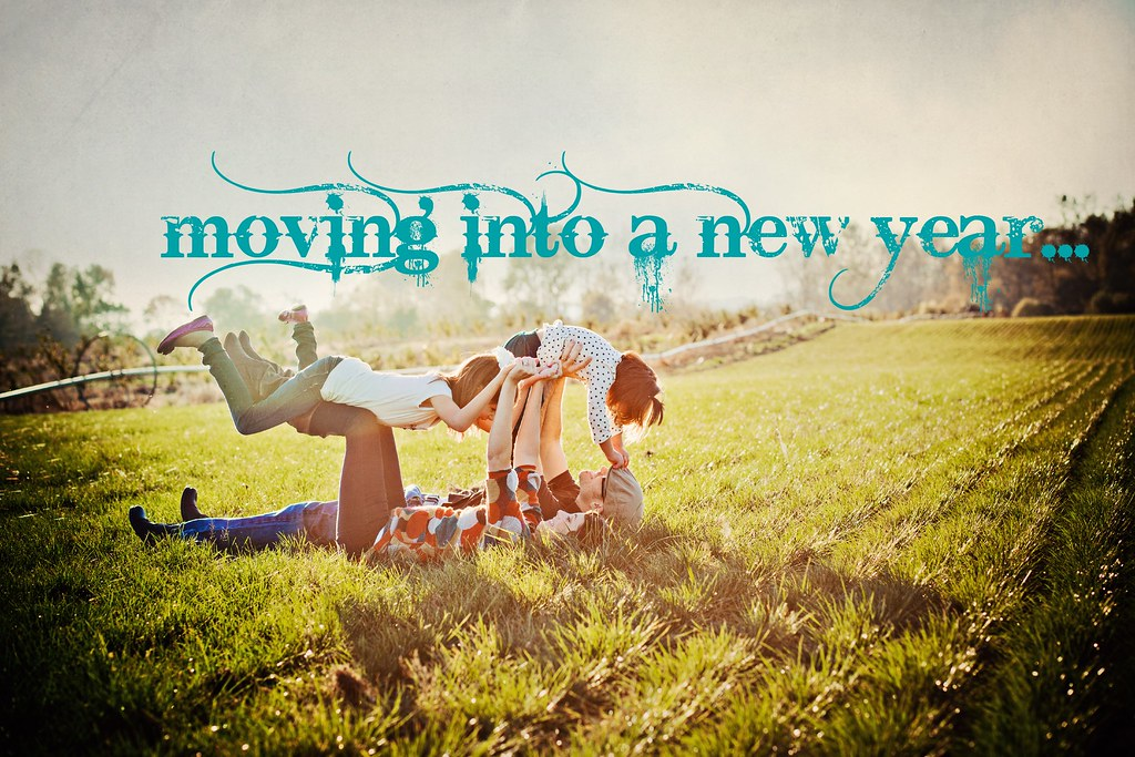 moving into a new year...