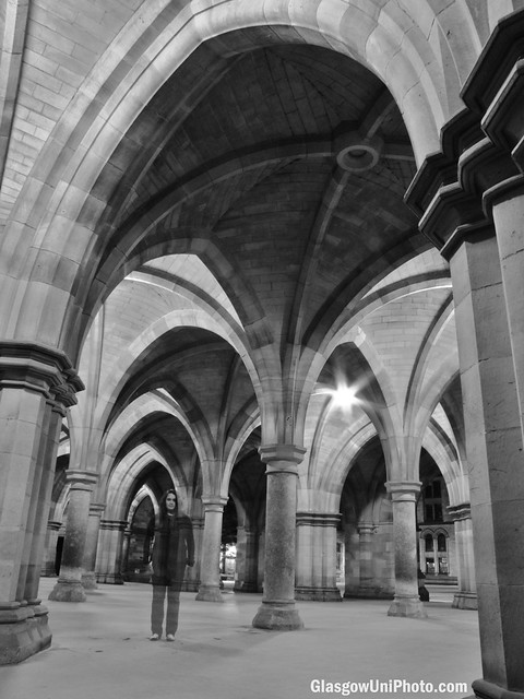 G is for... Ghosts at the University of Glasgow [ABC Sundae]