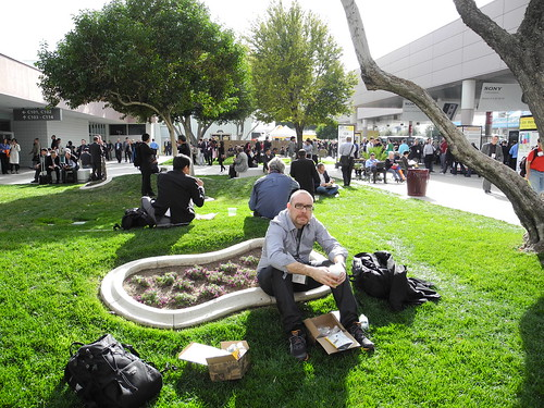 CES 2011 - lunchpaus