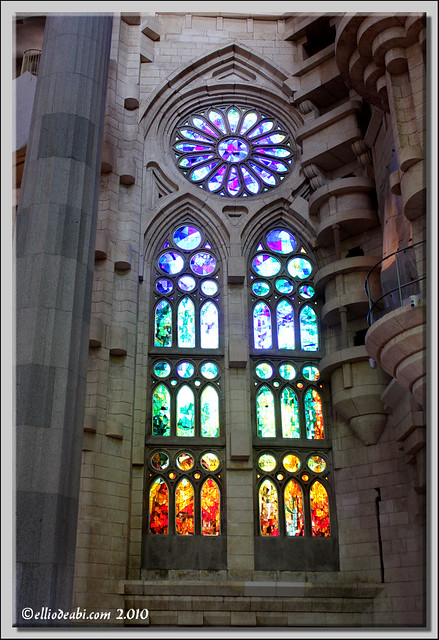 10 interior Sagrada Familia