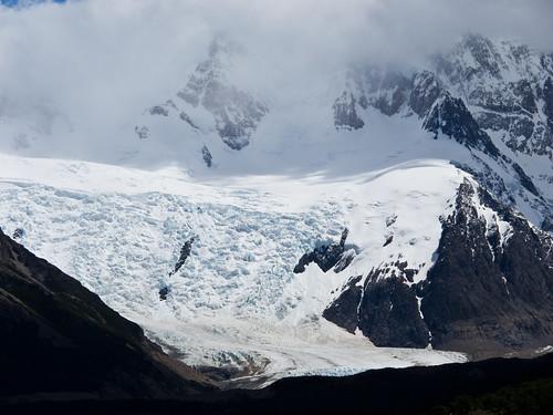 Glacier Near Fitz Roy - Patagonia, Argentina