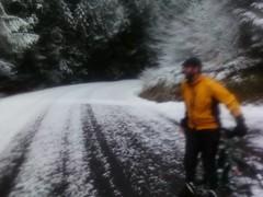 Ed (theoelliot) Tags: bike bicycle skyline oregon portland ride rando helvetia randonneur randonneuring snowyride