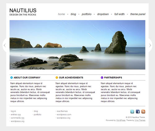 nautilius-wordpress-theme