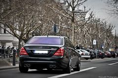 Mercedes S65 AMG V221 2010 (ThomvdN) Tags: berlin germany photography mercedes s65 automotive thom april amg 2010 carphotography v221 thomvdn