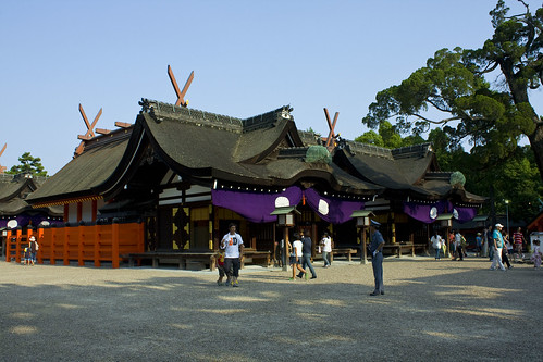 Shinto Shrine in Osaka